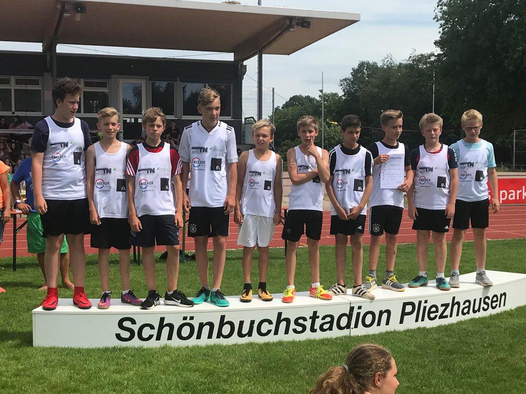 2. Platz für unser Team in Wettkampf IV/2
